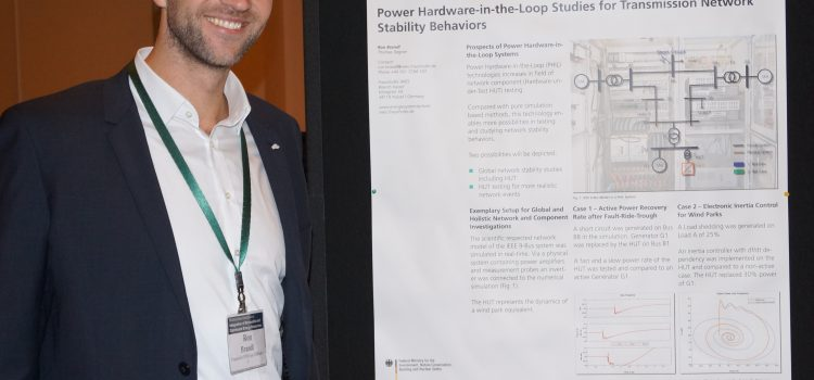ERIGrid supports best poster at IRED 2016