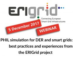 ERIGrid Webinar on PHIL Simulation
