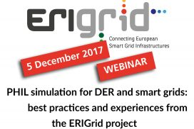 ERIGrid Webinar on PHIL Simulation