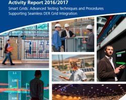 ERIGrid in DERlab Activity Report 2016/2017