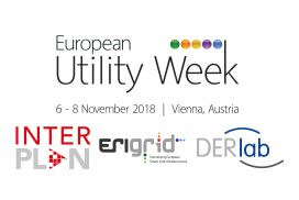 Visit ERIGrid booth at European Utility Week 2018