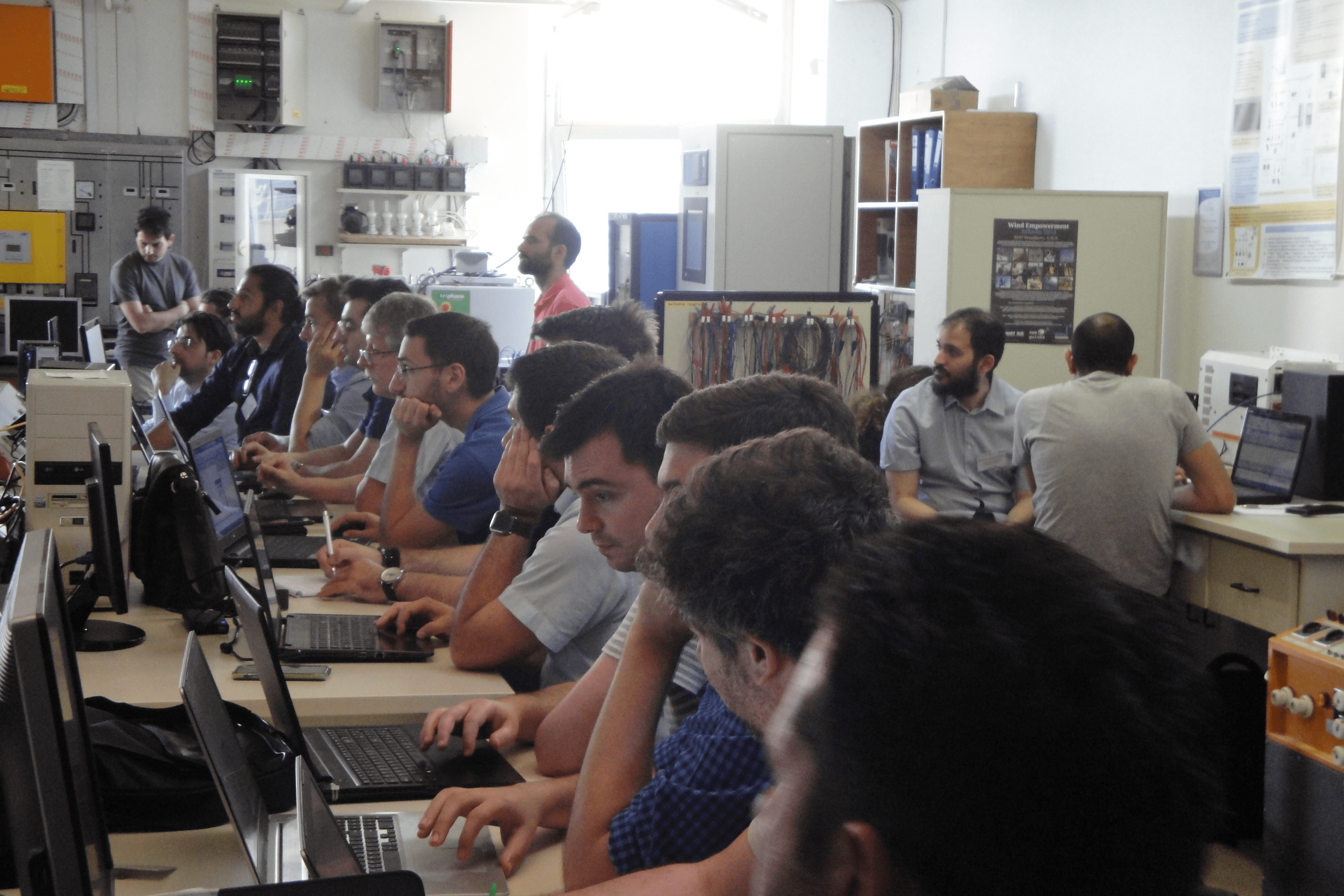 """ERIGrid Summer School """"Advanced operation and control of active distribution networks"""""""